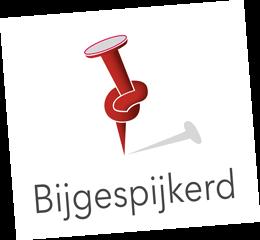Bijgespijkerd logo